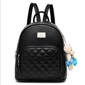 Handbags - Leather Backpack Satchel School Bags Casual Travel